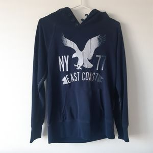 AMERICAN EAGLE OUTFITTERS Blue Hoodie